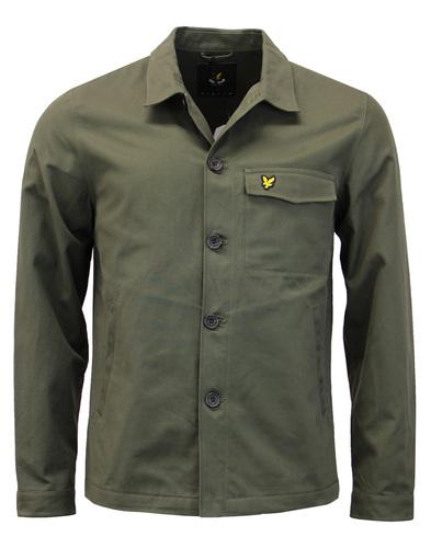 LYLE & SCOTT Mod Military Twill Army Shirt Jacket