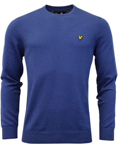 LYLE & SCOTT Mod Cotton Merino Crew Neck Jumper TB