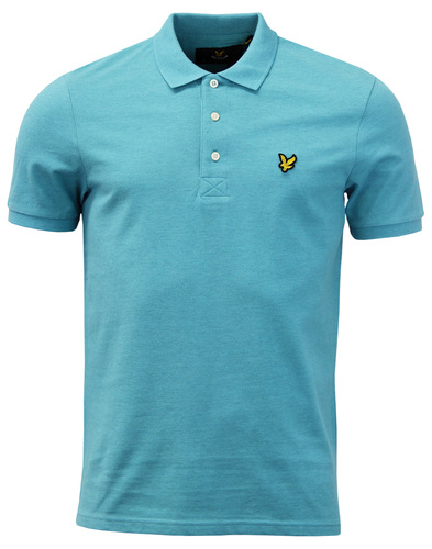 LYLE & SCOTT Men's Classic Mod Pique Polo Shirt AG