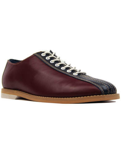 The Dudette MADCAP ENGLAND Retro Mod Bowling Shoes