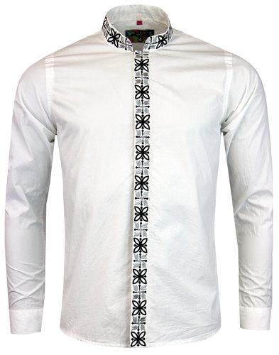 Avory MADCAP ENGLAND 60s Mandarin Collar Shirt (W)