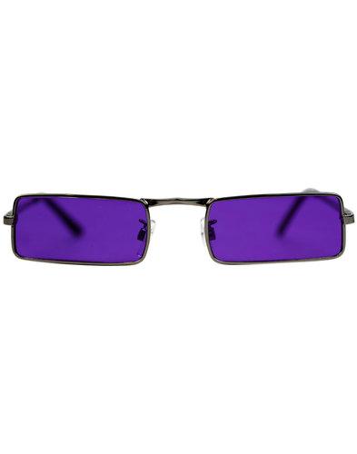 madcap england mcguinn 1960s granny glasses purple