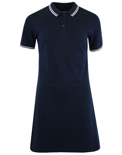 madcap england rockferry retro pique polo dress