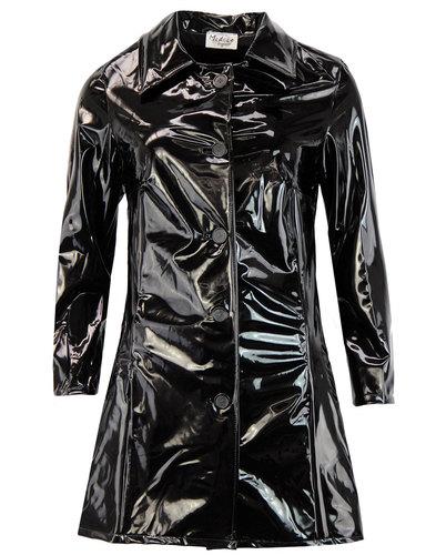 Jackie MADCAP ENGLAND Retro 60s Mod PVC Raincoat