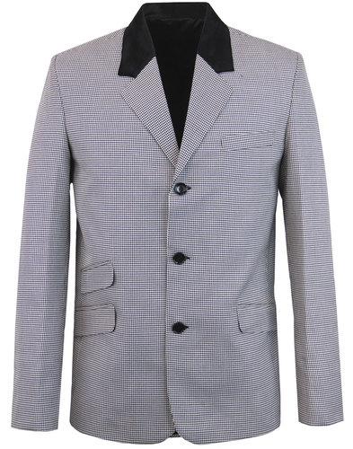 madcap england stoned mod dogtooth blazer jacket