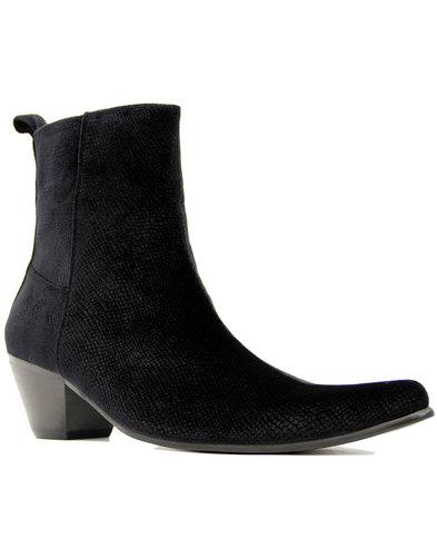 Velvet Casbah MADCAP ENGLAND Cuban Chelsea Boots B