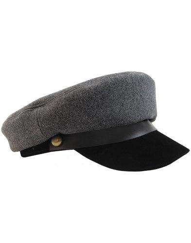 madcap england wild one retro 60s mod military cap
