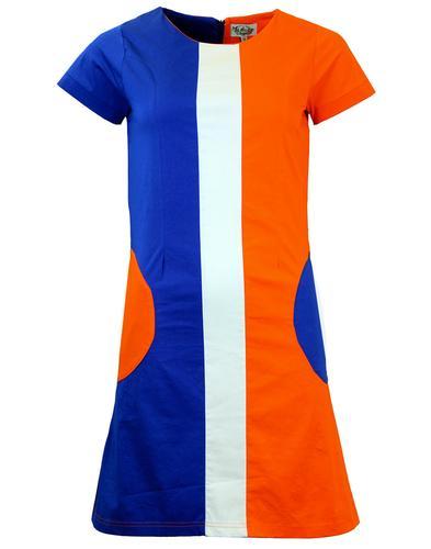 MADCAP ENGLAND HONEY 60s MOD CIRCLE POCKET DRESS