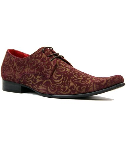 MADCAP ENGLAND JAG PAISLEY WINKLEPICKER SHOES