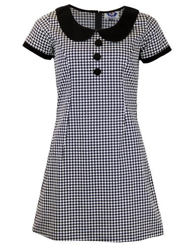 MADCAP ENGLAND DOLLIEROCKER MOD DRESS DOGTOOTH