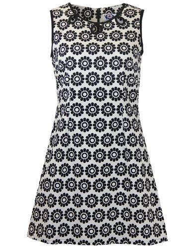 MADCAP ENGLAND RETRO MOD 60s DAISY DRESS LAZY