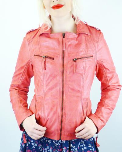 Solana MADCAP ENGLAND Retro Leather Jacket P