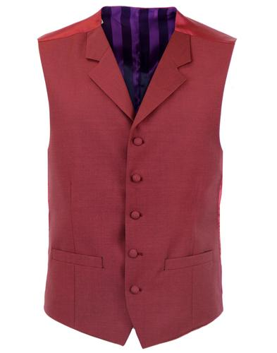 TAILORED BY MADCAP ENGLAND 60s Mod Tonic Waistcoat