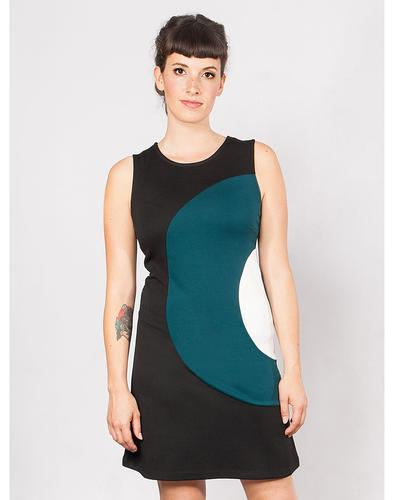 Mademoiselle Yeye Retro 60s Mod Target Dress