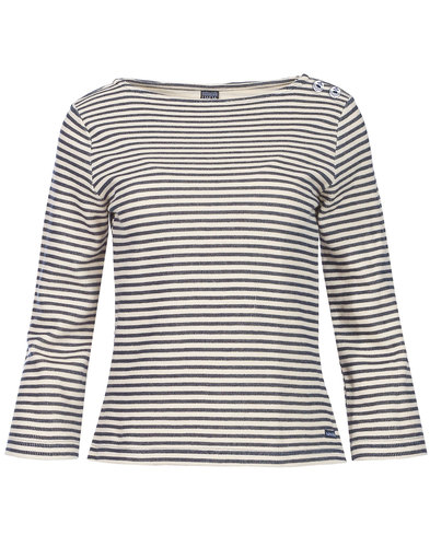 Mademoiselle Yeye sixties mod striped top Frieda