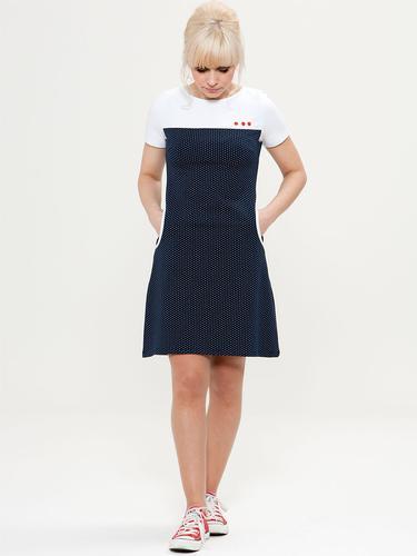 MADEMOISELLE YEYE RETRO MOD 60S SHIFT DRESS
