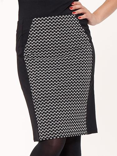 MADEMOISELLE YEYE RETRO MOD 60S PENCIL SKIRT