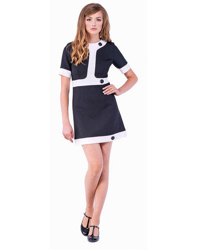 Marmalade Retro Sixties Mod 60s Dress