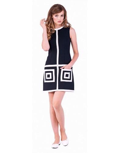 Marmalade Dresses Retro 60s Square Pockets Dress