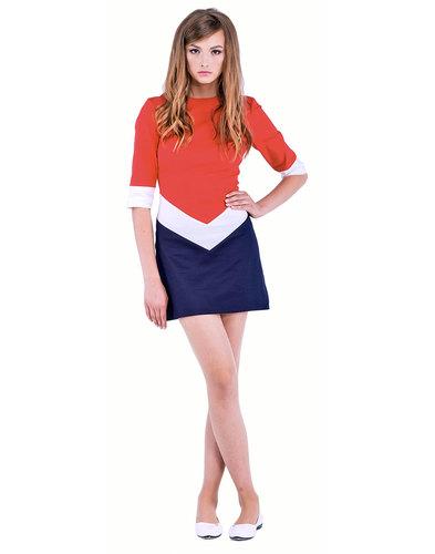 Marmalade Dresses Retro 60s Mod Chevron Dress