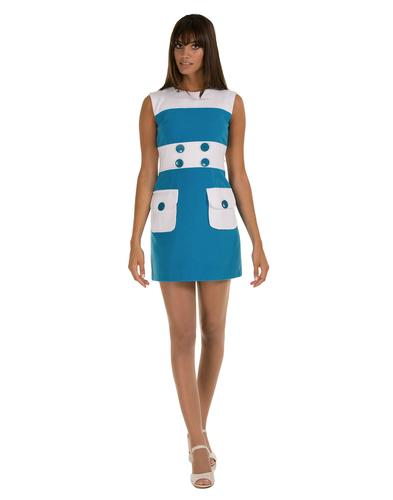 MARMALADE DRESSES RETRO MOD STRIPE 60S DRESS