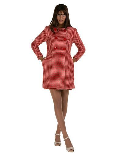 MARMALADE DRESSES RETRO MOD DOGTOOTH COAT