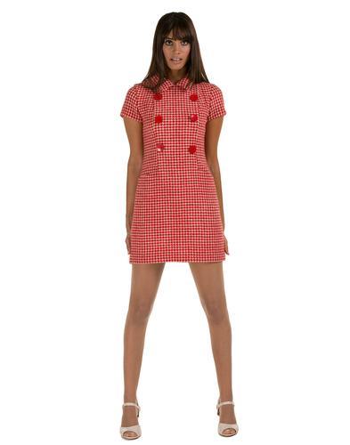 MARMALADE DRESSES RETRO MOD DOGTOOTH DRESS