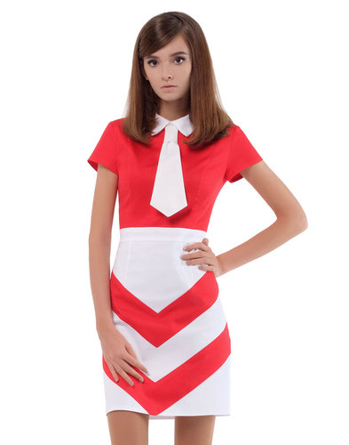 Marmalade Dresses Retro 60s Mod Kipper Tie Dress