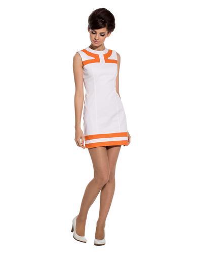 MARMALADE DRESSES RETRO MOD 60S AIRLINE DRESS