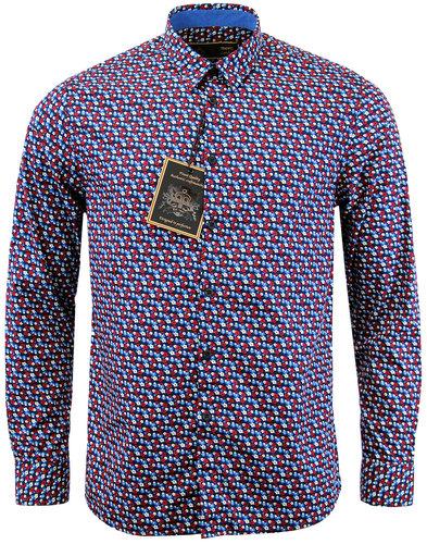 merc-grosmont-retro-1960s-mod-floral-shirt-navy