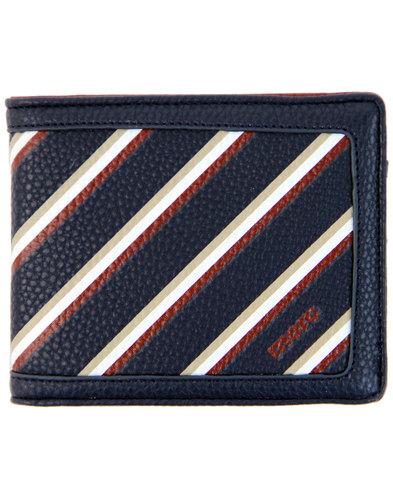 Hallet MERC Men's Retro Mod Regatta Stripe Wallet