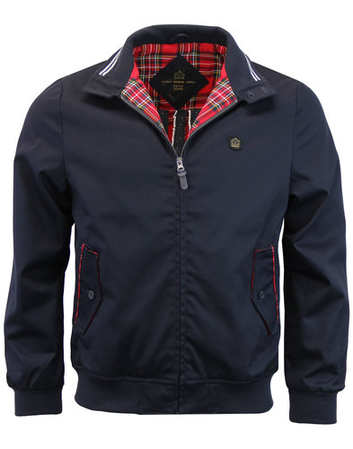 merc harrington fifty mod retro jacket navy