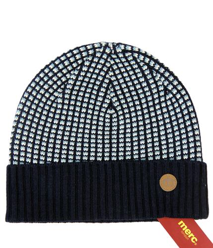 MERC RETRO MOD KNITTED BEANIE HAT