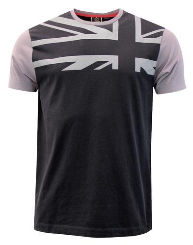 Crest MERC Men's Mod Union Jack Print T-Shirt (B)