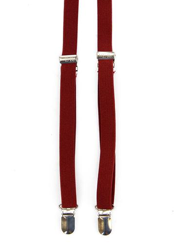 Drace MERC Retro Mod Skinny Braces (Blood)