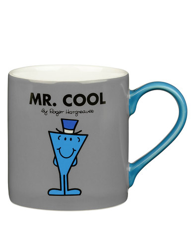 Mr Men Cups Mr Cool Grey Mug