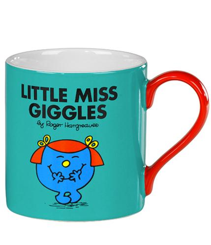Little Miss Giggles - 70s Mr Men & Little Miss Mug