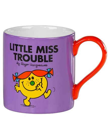 MR MEN CUPS LITTLE MISS TROUBLE MUG