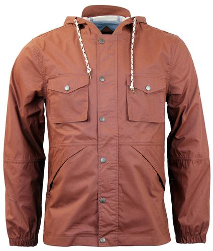 NATIVE YOUTH RETRO INDIE RIP STOP FESTIVAL JACKET