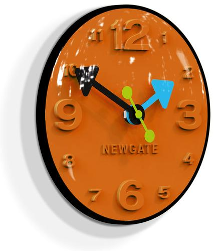 NEWGATE CLOCKS RETRO 60s BLUGGLE WALL CLOCK