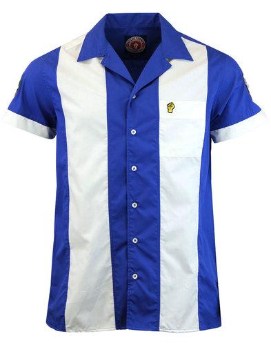 WIGAN CASINO Mod Northern Soul Panel Bowling Shirt