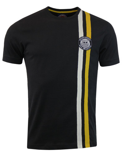 northern soul wigan casino mod retro t-shirt black