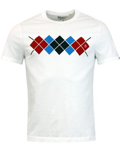 ORIGINAL PENGUIN Retro Mod Argyle Check T-Shirt
