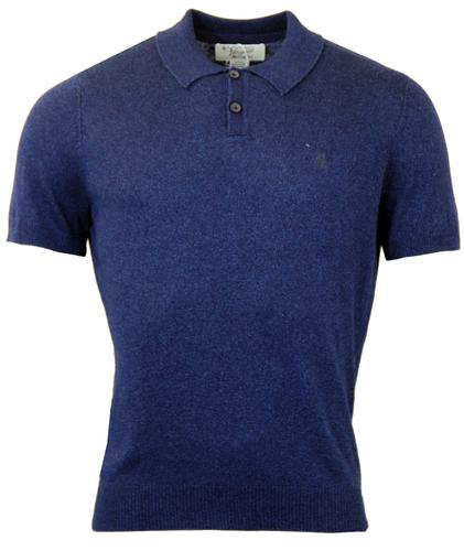 ORIGINAL PENGUIN RETRO 70S KNITTED POLO