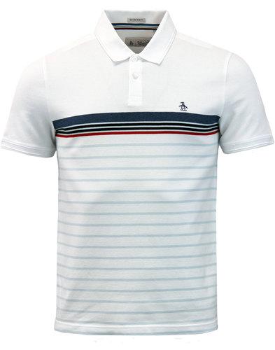 Winston ORIGINAL PENGUIN Engineered Stripe Polo