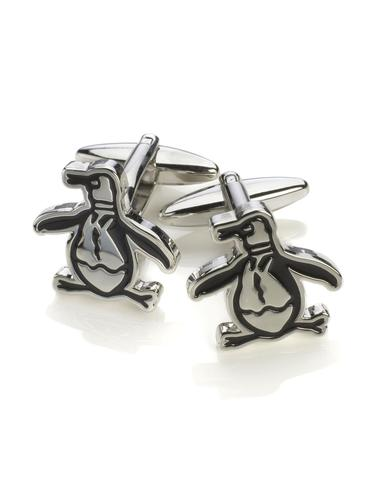ORIGINAL PENGUIN RETRO LOGO CUFFLINKS