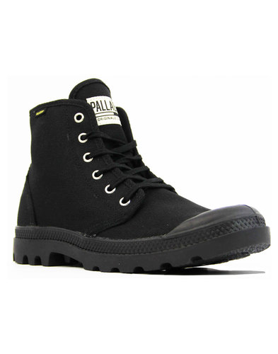 Pampa Hi Originale palladium canvass boots black