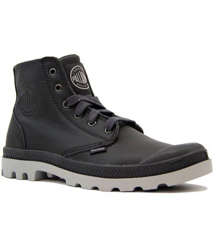 palladium pampa hi vl retro indie mod boots black