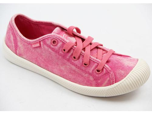 PALLADIUM WOMENS FLEX LACE SHOES PINK