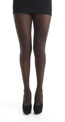 PAMELA MANN RETRO 80 DENIER CHOCOLATE TIGHTS